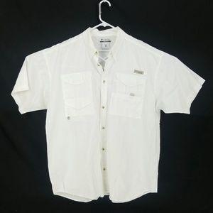 Columbia PFG  Fishing Button Front Shirt XL SC29